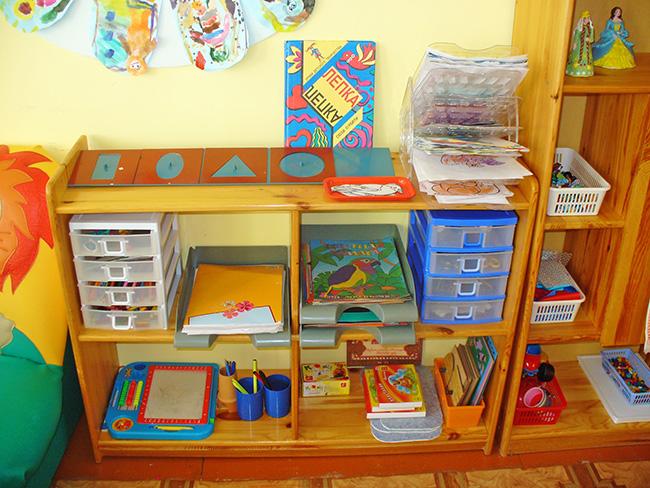 Книжный уголок для детского сада