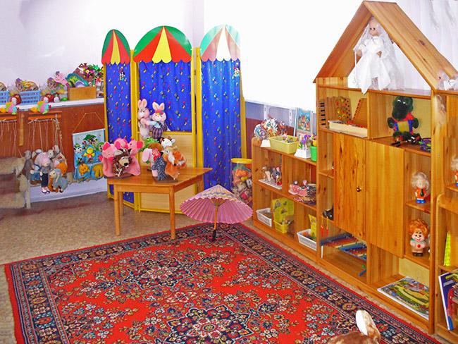 Фото театральный уголок в детском саду своими руками